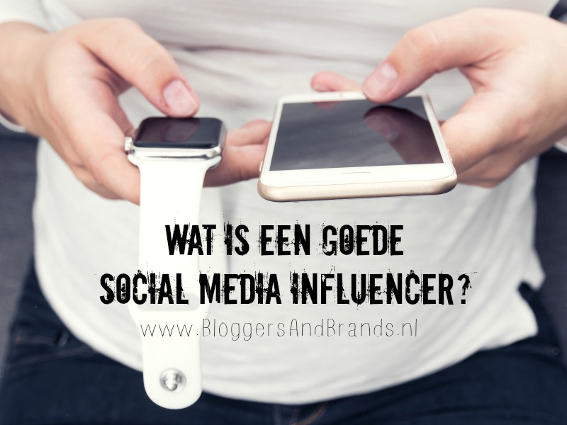 goede social media influencer