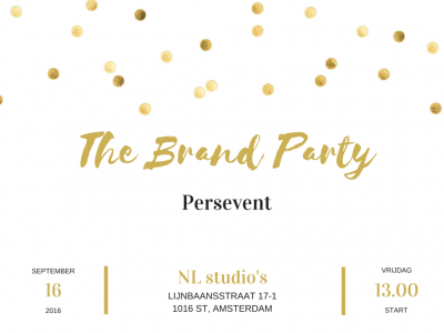 The brand party