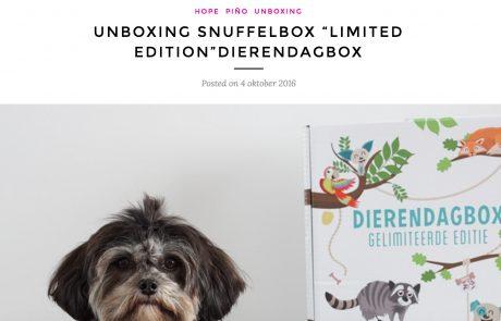 snuffelbox publicatie