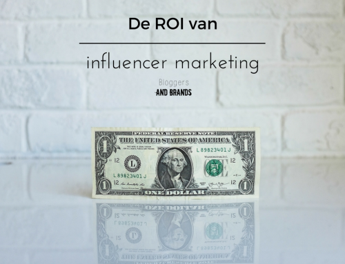 De ROI van influencer marketing