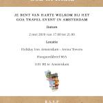 Goa invite
