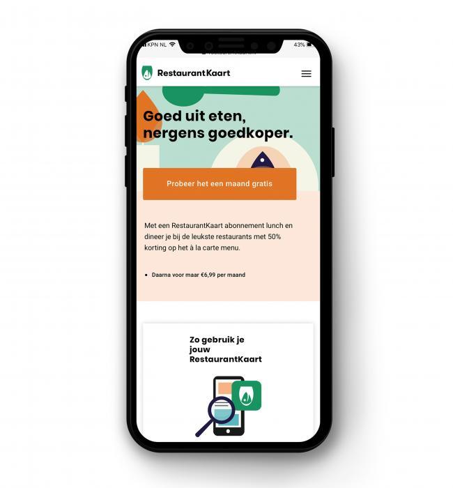 restarauntkaart app